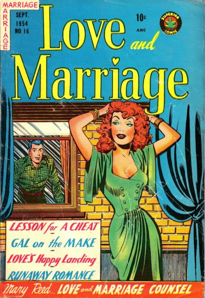 Cover for Love and Marriage (Superior Publishers Limited, 1952 series) #16