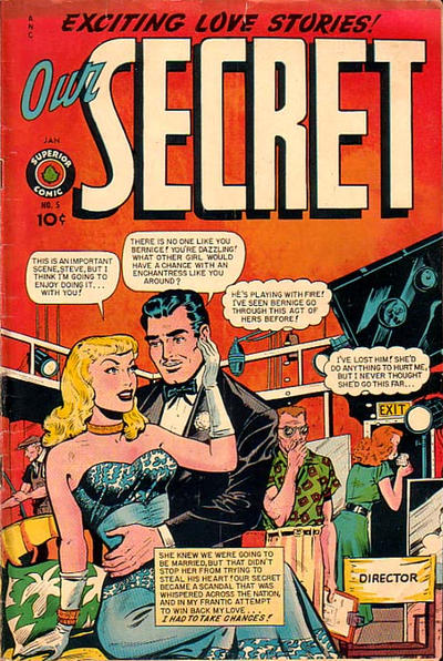 Cover for Our Secret (Superior, 1949 series) #5