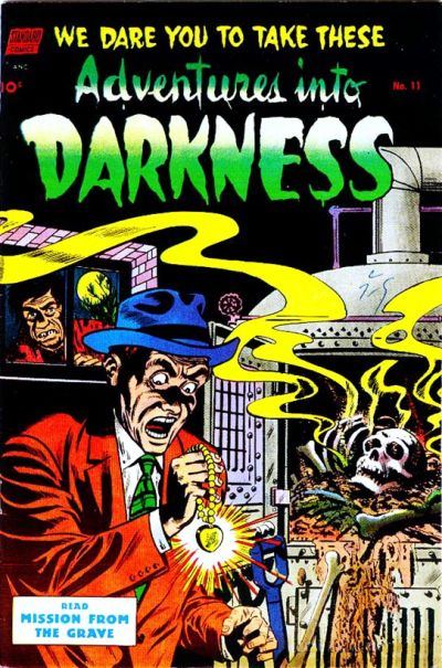 Cover for Adventures into Darkness (Pines, 1952 series) #11