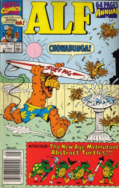 Cover for Alf Annual (Marvel, 1988 series) #3 [Direct]