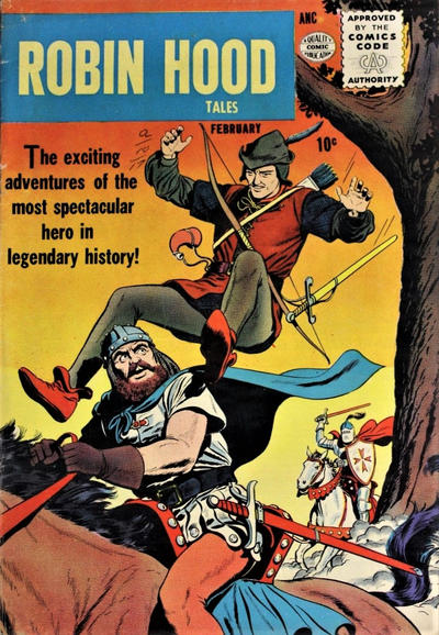 Cover for Robin Hood Tales (Quality Comics, 1956 series) #1