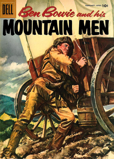 Cover for Ben Bowie and His Mountain Men (Dell, 1956 series) #10