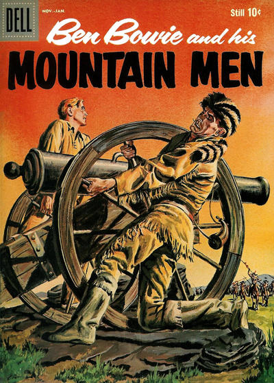 Cover for Ben Bowie and His Mountain Men (Dell, 1956 series) #17