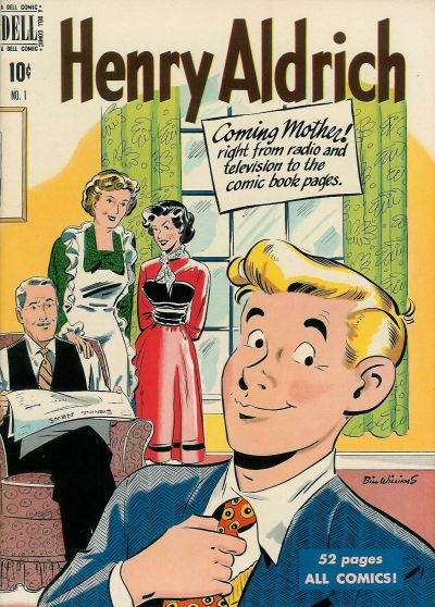 Cover for Henry Aldrich (Dell, 1950 series) #1