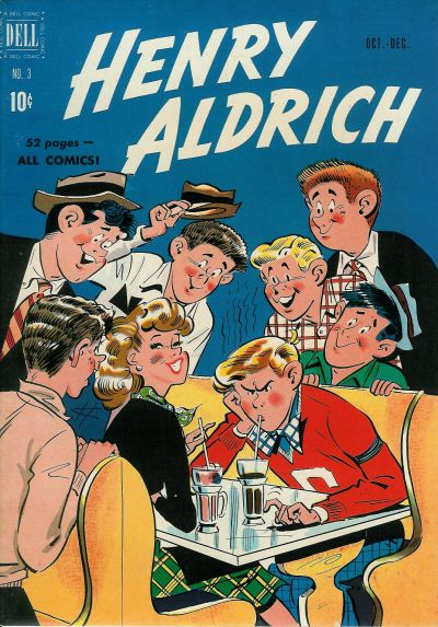Cover for Henry Aldrich (Dell, 1950 series) #3