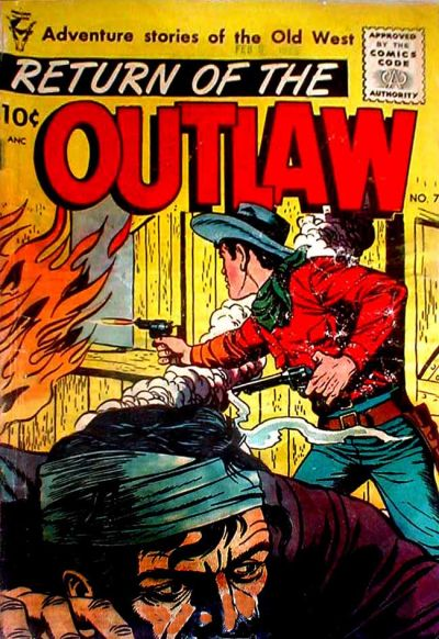 Cover for Return of the Outlaw (Toby, 1953 series) #7