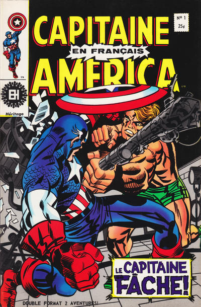 Cover for Capitaine America (Editions Héritage, 1970 series) #1