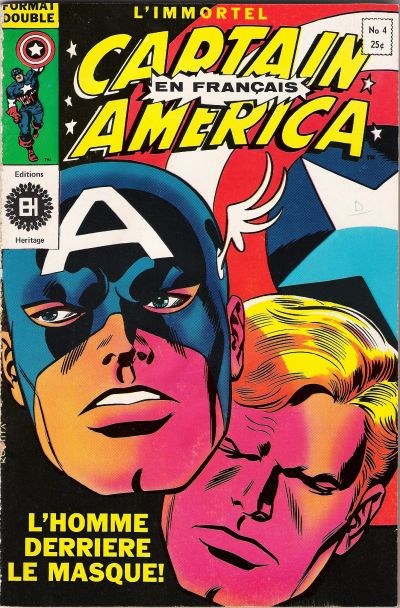 Cover for Capitaine America (Editions Héritage, 1970 series) #4
