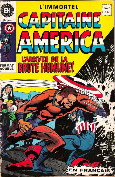 Cover for Capitaine America (Editions Héritage, 1970 series) #7