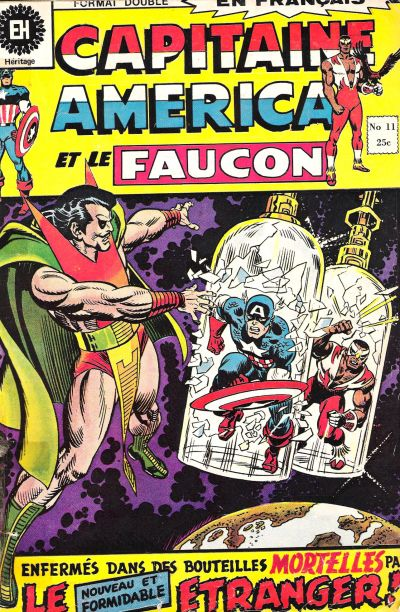 Cover for Capitaine America (Editions Héritage, 1970 series) #11