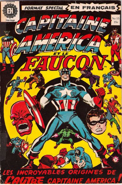 Cover for Capitaine America (Editions Héritage, 1970 series) #15