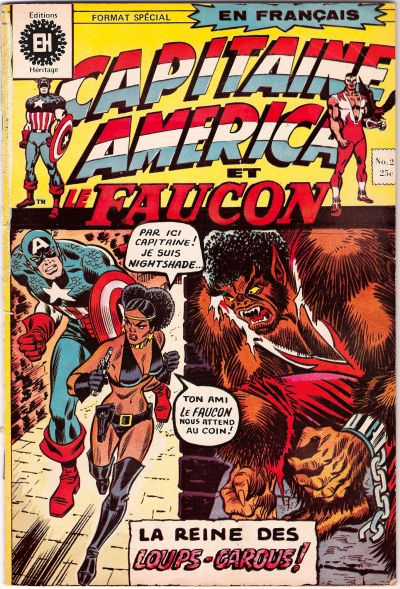 Cover for Capitaine America (Editions Héritage, 1970 series) #24