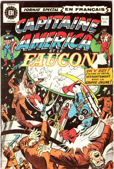 Cover for Capitaine America (Editions Héritage, 1970 series) #27