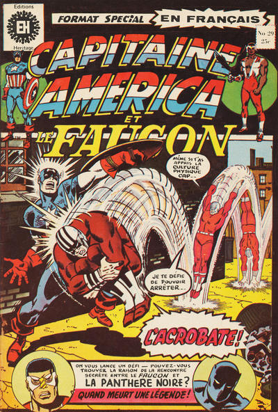 Cover for Capitaine America (Editions Héritage, 1970 series) #29