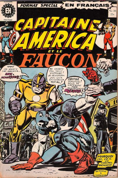 Cover for Capitaine America (Editions Héritage, 1970 series) #30