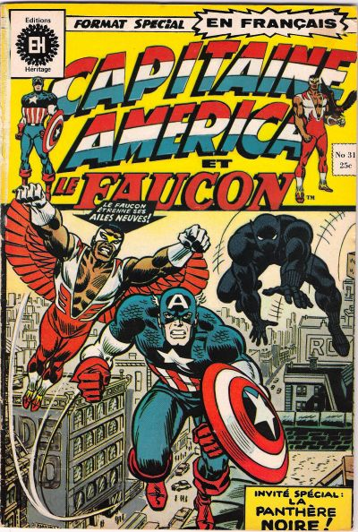 Cover for Capitaine America (Editions Héritage, 1970 series) #31