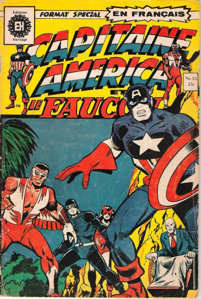 Cover for Capitaine America (Editions Héritage, 1970 series) #33