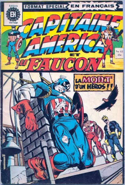 Cover for Capitaine America (Editions Héritage, 1970 series) #43