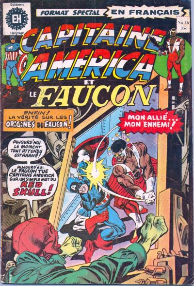 Cover for Capitaine America (Editions Héritage, 1970 series) #46