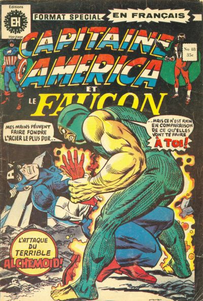 Cover for Capitaine America (Editions Héritage, 1970 series) #48