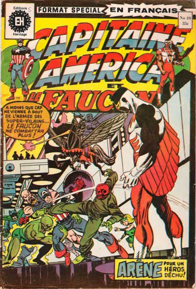 Cover for Capitaine America (Editions Héritage, 1970 series) #49