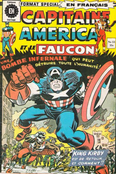 Cover for Capitaine America (Editions Héritage, 1970 series) #53