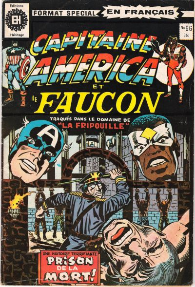 Cover for Capitaine America (Editions Héritage, 1970 series) #66