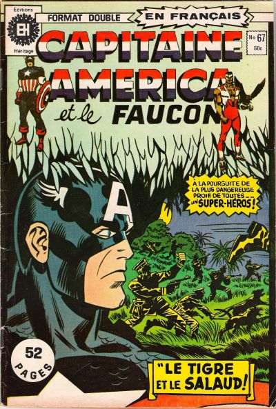 Cover for Capitaine America (Editions Héritage, 1970 series) #67