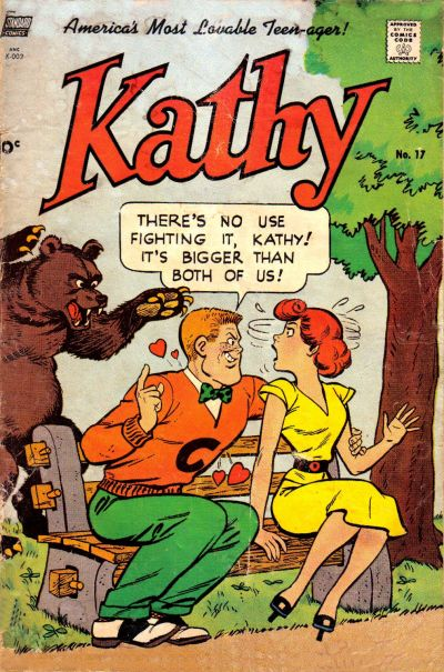 Cover for Kathy (Pines, 1949 series) #17