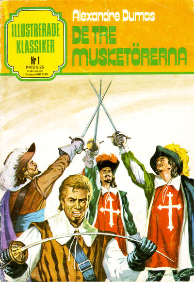 Cover for Illustrerade klassiker (Semic, 1978 series) #1