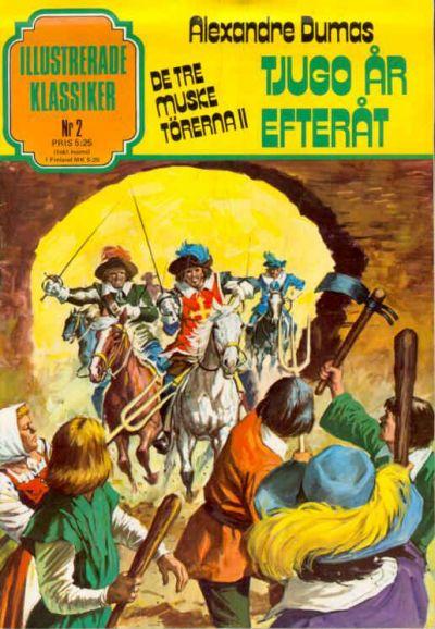 Cover for Illustrerade klassiker (Semic, 1978 series) #2