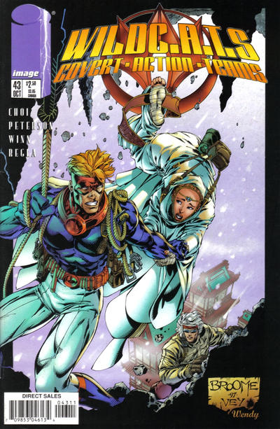 Cover for WildC.A.T.S (Image, 1995 series) #43
