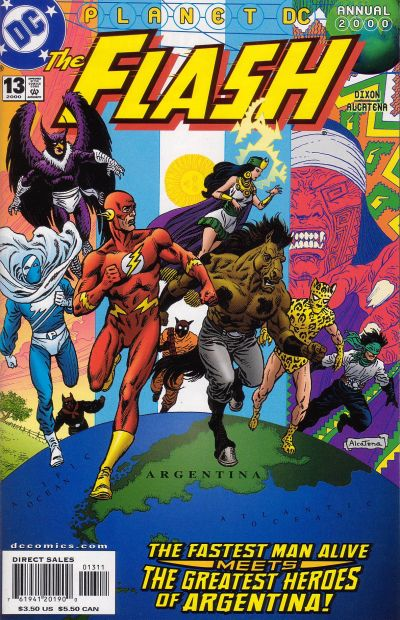 Cover for Flash Annual (DC, 1987 series) #13