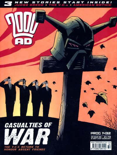 Cover for 2000 AD (Rebellion, 2001 series) #1432