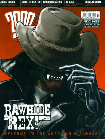 Cover for 2000 AD (Rebellion, 2001 series) #1433