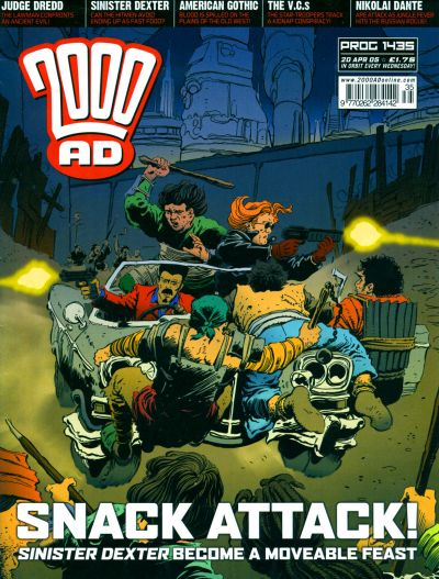 Cover for 2000 AD (Rebellion, 2001 series) #1435
