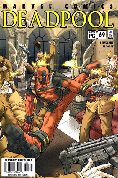 Cover for Deadpool (Marvel, 1997 series) #69 [Direct Edition]