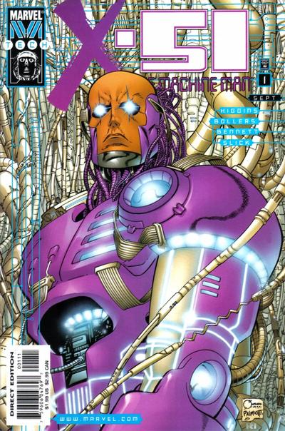 Cover for X-51 (Marvel, 1999 series) #1 [Direct Edition]