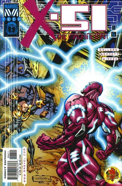 Cover for X-51 (Marvel, 1999 series) #6