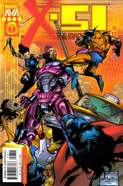Cover for X-51 (Marvel, 1999 series) #8