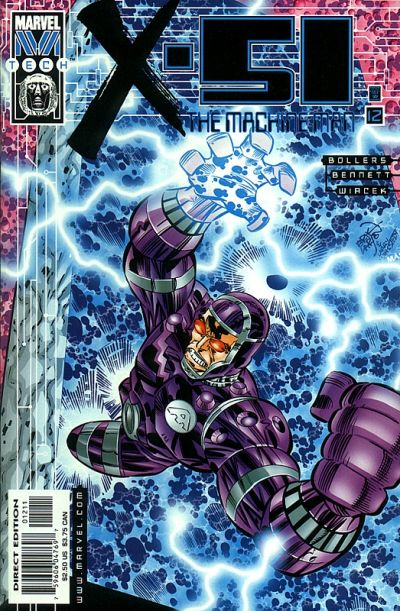 Cover for X-51 (Marvel, 1999 series) #12