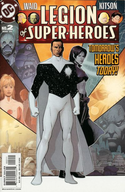 Cover for Legion of Super-Heroes (DC, 2005 series) #2