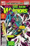 Cover for The New Warriors Annual (Marvel, 1991 series) #2 [Newsstand]