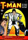 Cover for T-Man (Quality Comics, 1951 series) #1