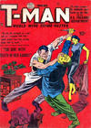 Cover for T-Man (Quality Comics, 1951 series) #2
