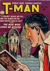 Cover for T-Man (Quality Comics, 1951 series) #6