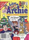 Cover for Little Archie Comics Digest Magazine (Archie, 1985 series) #34 [Canadian Newsstand]