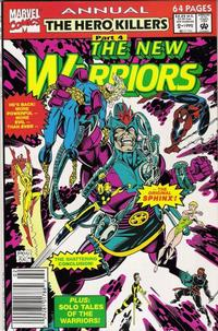 Cover Thumbnail for The New Warriors Annual (Marvel, 1991 series) #2 [Newsstand]