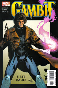 Cover Thumbnail for Gambit (Marvel, 2004 series) #1