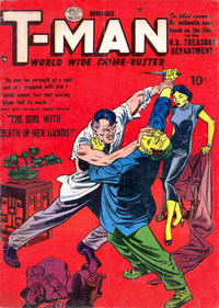 Cover Thumbnail for T-Man (Quality Comics, 1951 series) #2